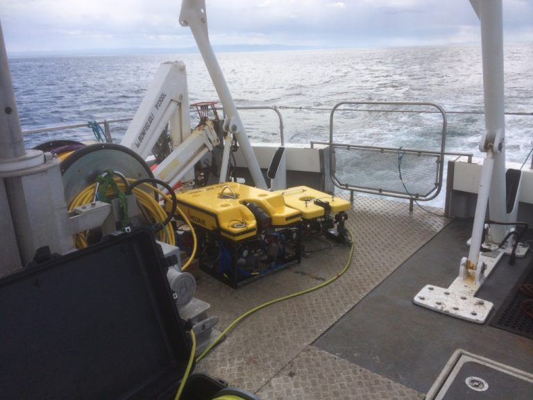 ROV on deck