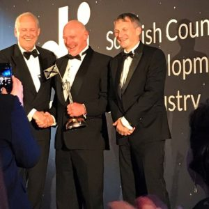 Moray Marine wins the 2019 SCDI award for excellence in a marine business